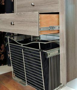 gliding basket drawer