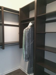 new victory closet install