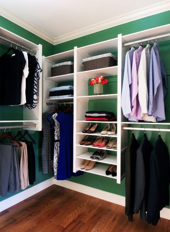create your own personal space with a closet system. Black Bedroom Furniture Sets. Home Design Ideas