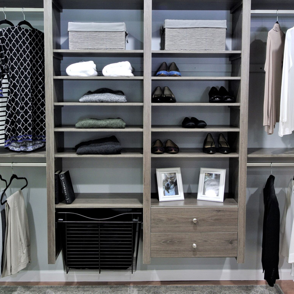 reach-in closet system