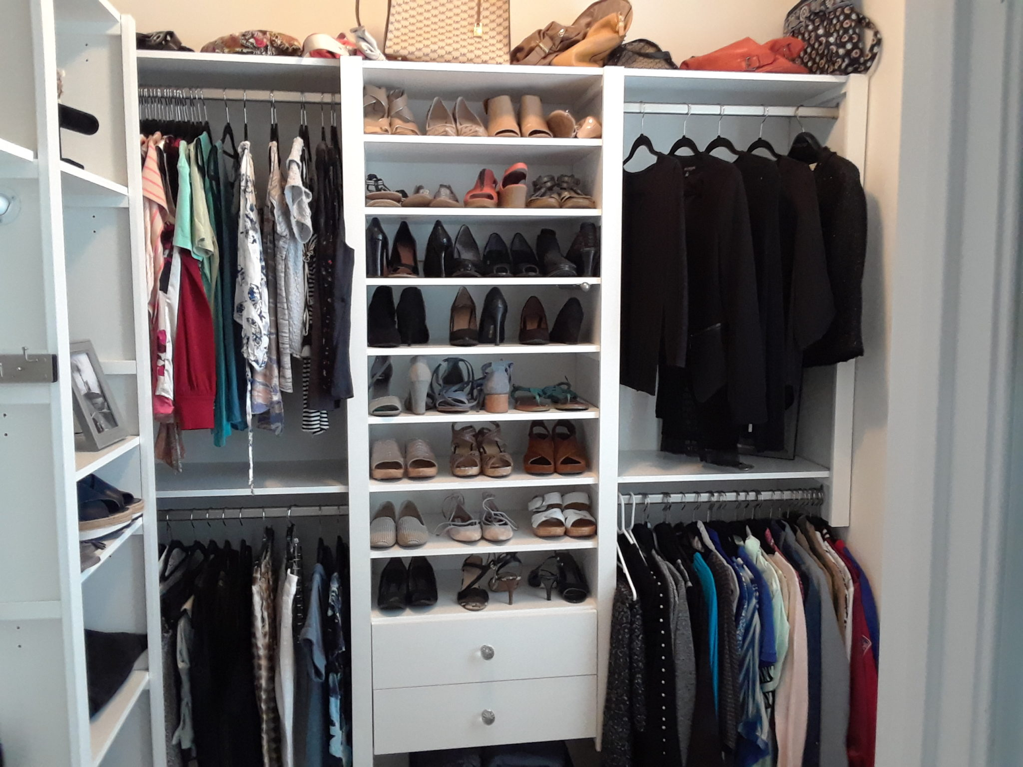 Shoe Storage In The Closet Victory Closets