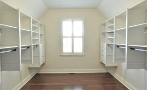 white custom closet from victory closets